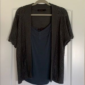 The Limited Cardigan with camisole